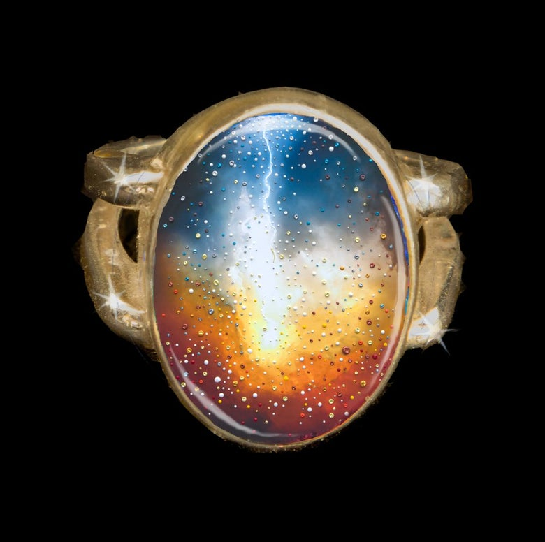 Image of The Divine Creation Positive Energy Ring