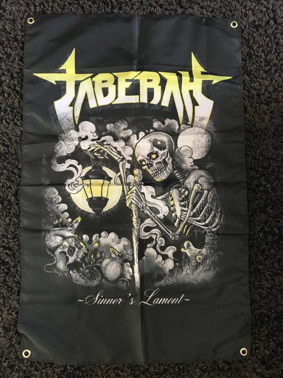 Image of Sinner's Lament Poster Flag