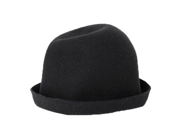 Image of mature ha. - Free Hat back stitch BLACK