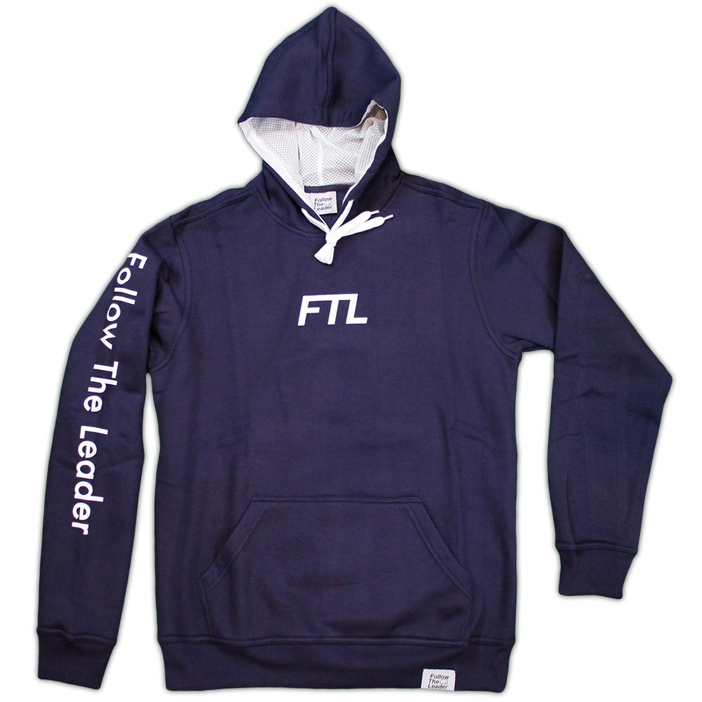 Image of FTL Classic Hooded Sweatshirt (Navy)
