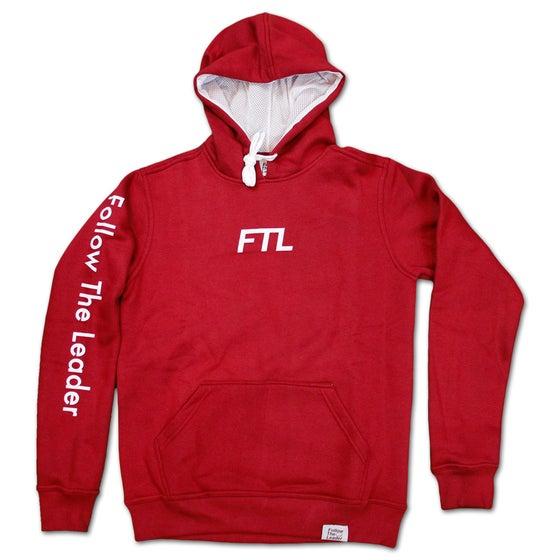 Image of FTL Classic Hooded Sweatshirt (Maroon)