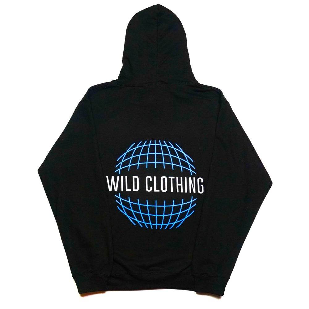 Image of LIMITED EDITION Hoodie Reflective Black