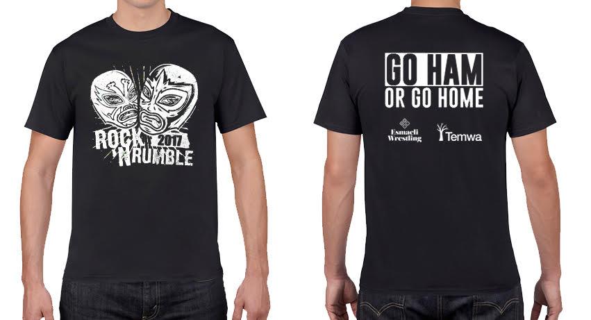 Image of Rock 'N Rumble t-shirt