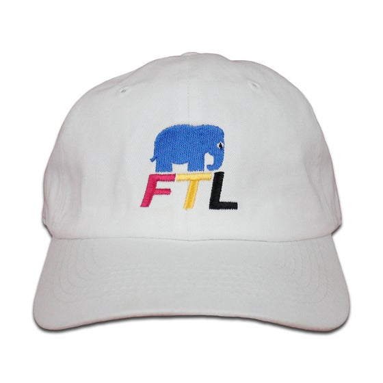 Image of FTLephant CMYK Hat White