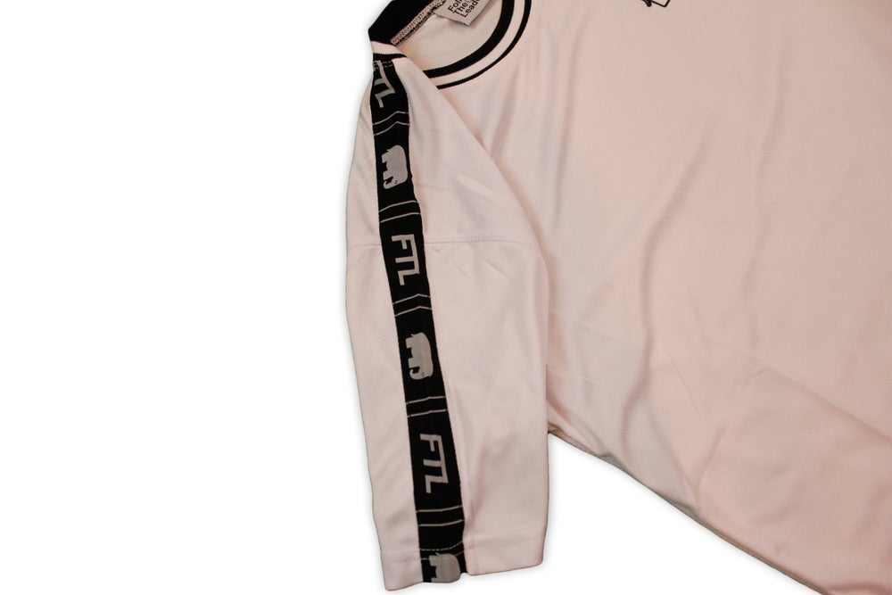 Image of Elephant Track Jersey With Logo Taping (White)