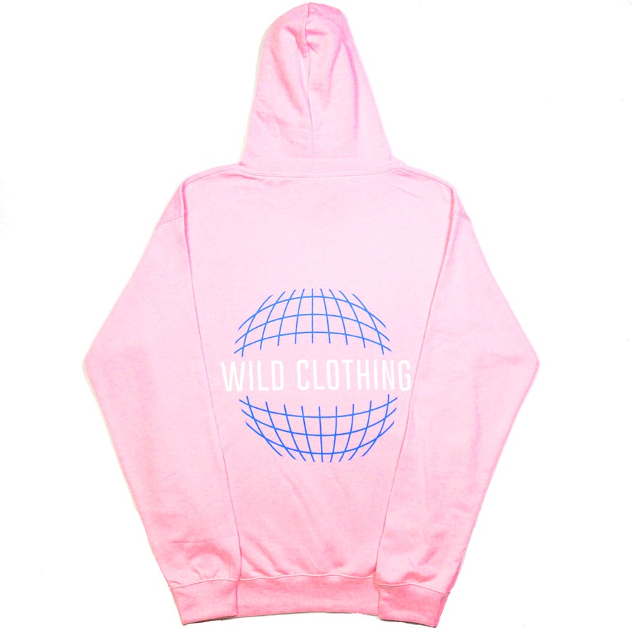 Image of LIMITED EDITION Hoodie Reflective Pink