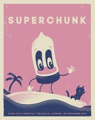 Image of SUPERCHUNK 2011 Gig Poster