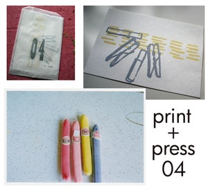 Image of print + press, 04
