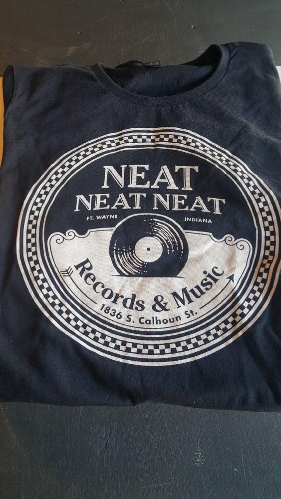 Image of Neat Neat Neat T Shirt - Classic Black