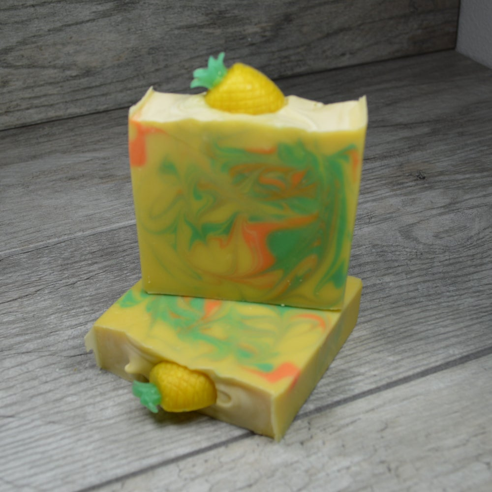 Image of Pineapple Papaya Soap