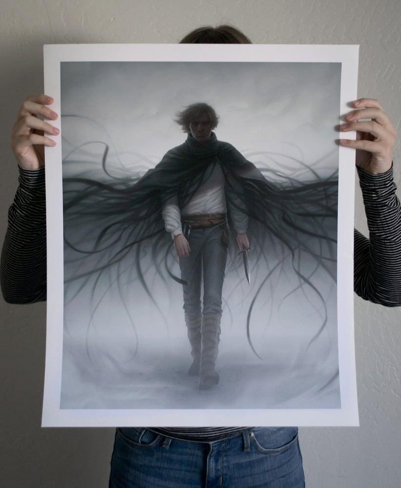 Image of 'Mistborn: Secret History' Limited Edition Print