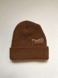 "Image of Mantis ""Salary Cap"" snowboard beanie garage brown"