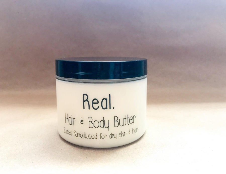 Image of Real. Hair & Body Butter 6 oz: Pre-order
