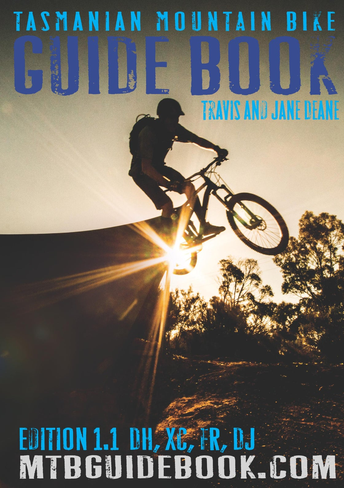 Image of Tasmanian Mountain Bike Guide Book Edition 1.1