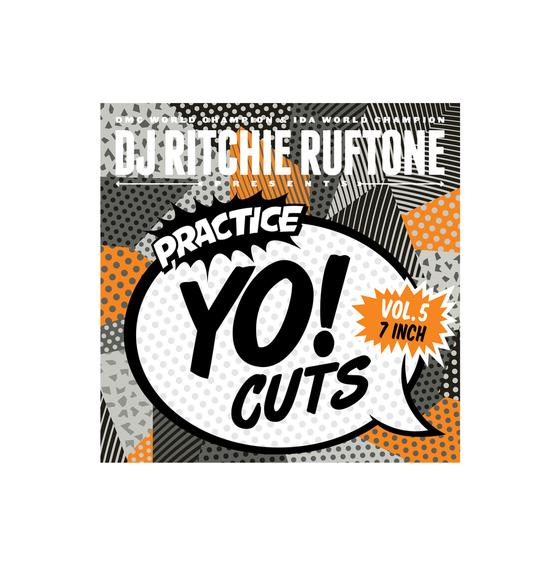 """Image of Practice Yo! Cuts v5 - Grey Color 7"""" Scratch Vinyl"""