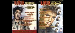 Image of ELVIS TRIBUTE DVD - VARIOUS ARTISTS INCLUDING CRAZY CAVAN