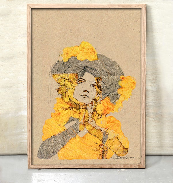 Image of Boheme Woman #yellow.