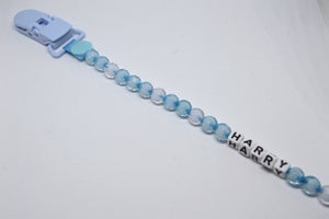 Image of Personalised Soother Clips