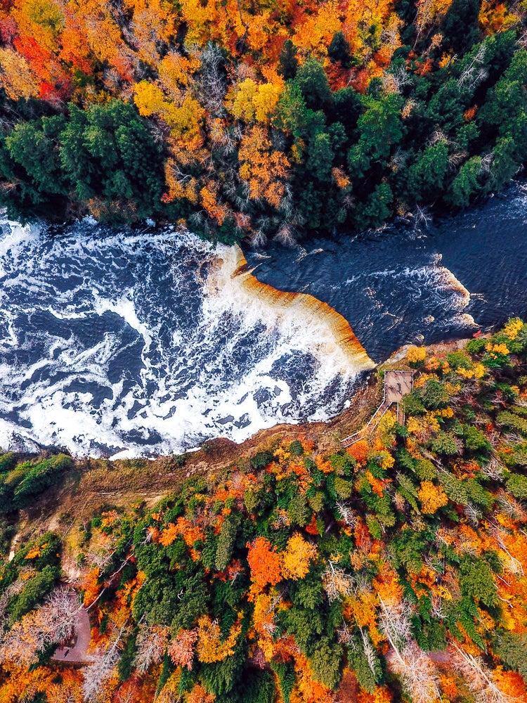 Image of Tahquamenom Falls