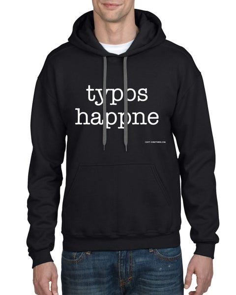 Image of Typos happne hoodie