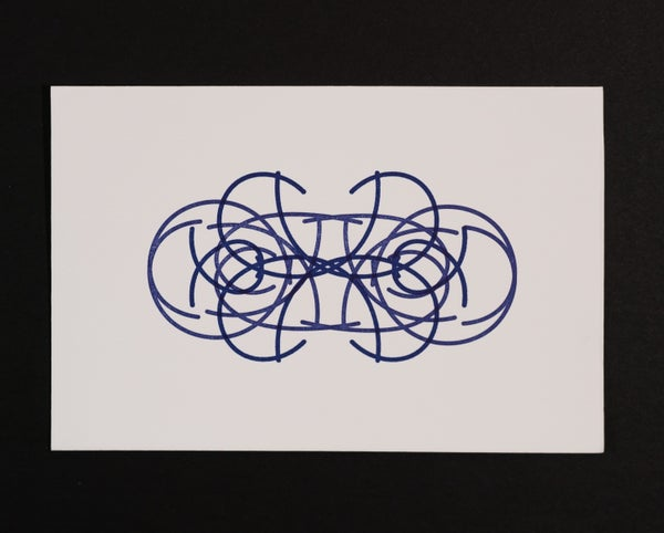 Image of Quadrilateral Starfield Symmetry A:L II - Postcard