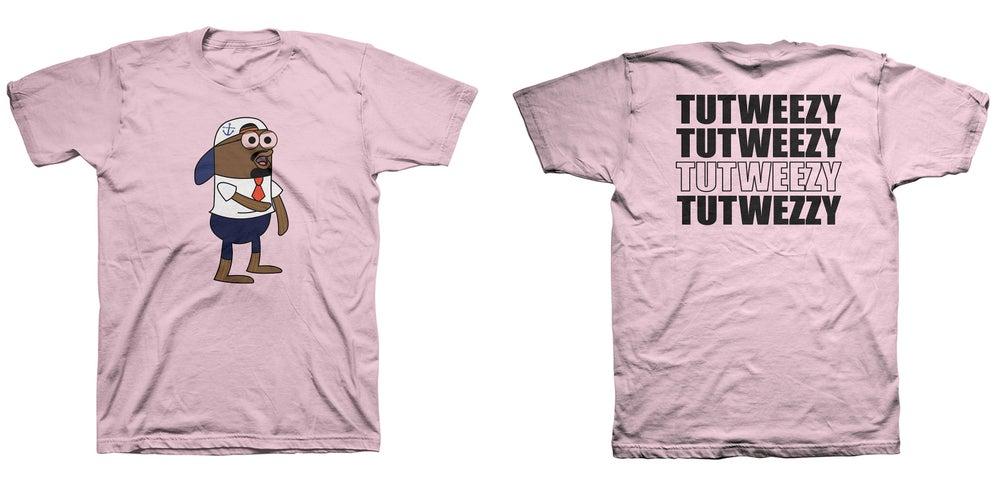 Image of Pink Tutweezy Logo T- Shirt
