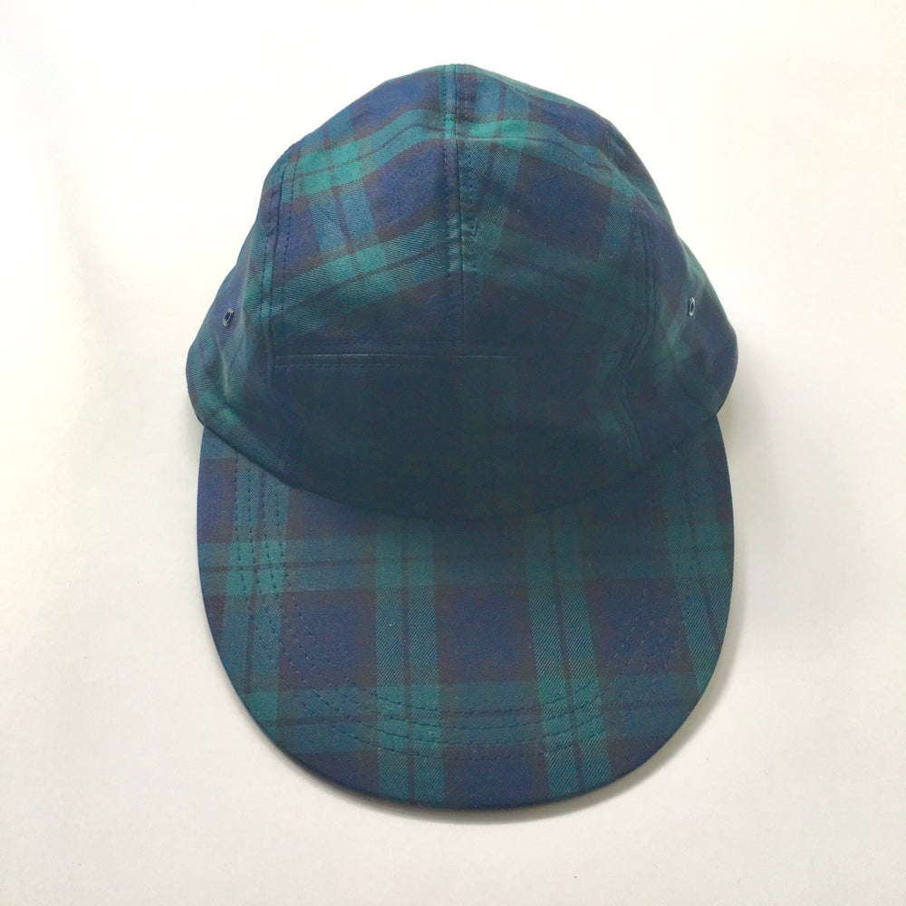 Image of Black watch longbill hat