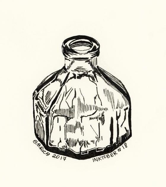Image of Inktober #18 - Ink Jar