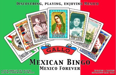Image of Mexican Bingo - Mexico Forever game