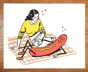 Image of Wiener Lover Art Print