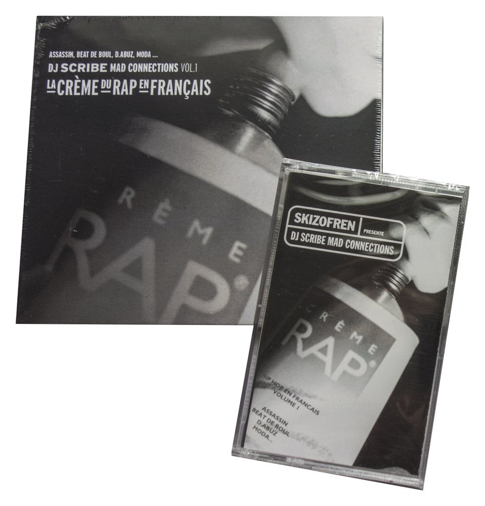 Image of Dj Scribe - Mad Connections Vol.1 Rue Scribe- (Pack K7 + CD Digipack)