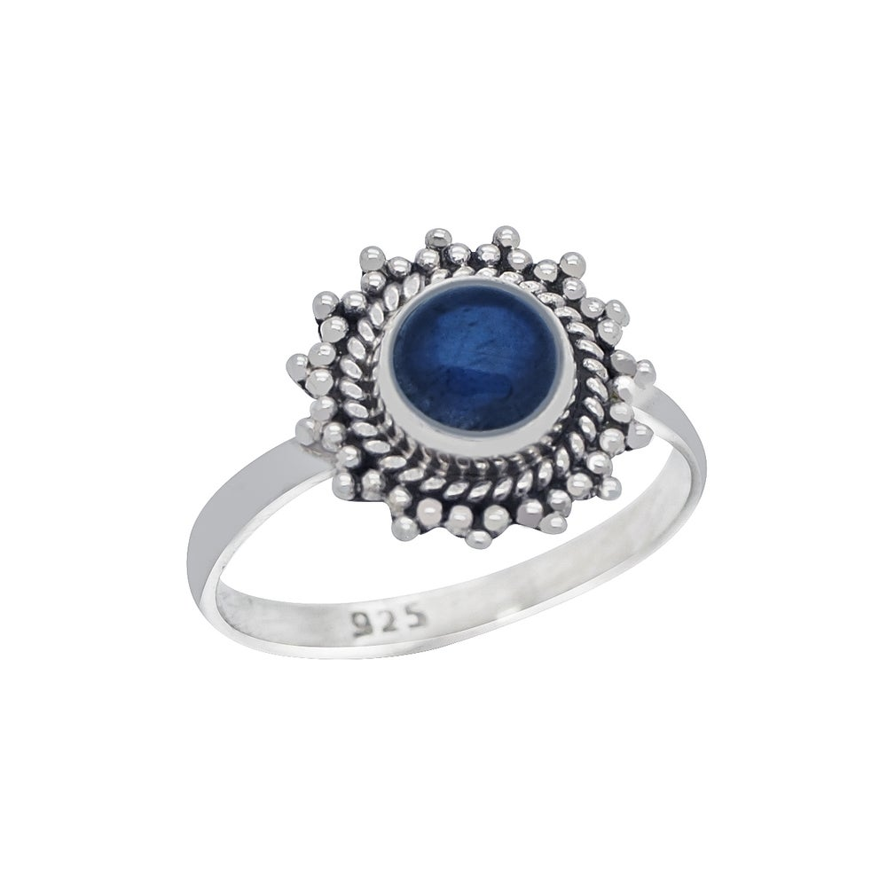 Image of Sterling Silver & Labradorite Solstice Ring