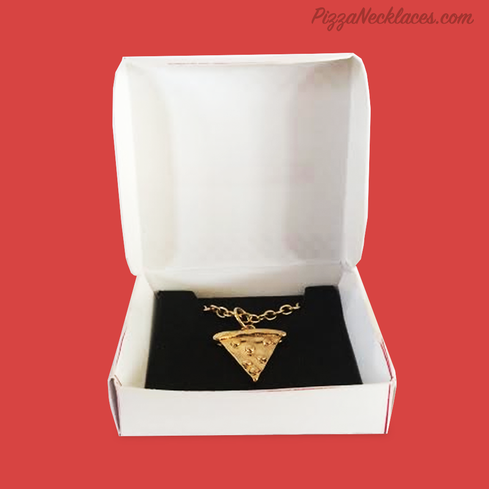 Image of Pizza Necklace (Gold/Silver)