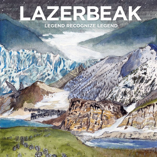 Image of Legend Recognize Legend CD/DVD - Lazerbeak