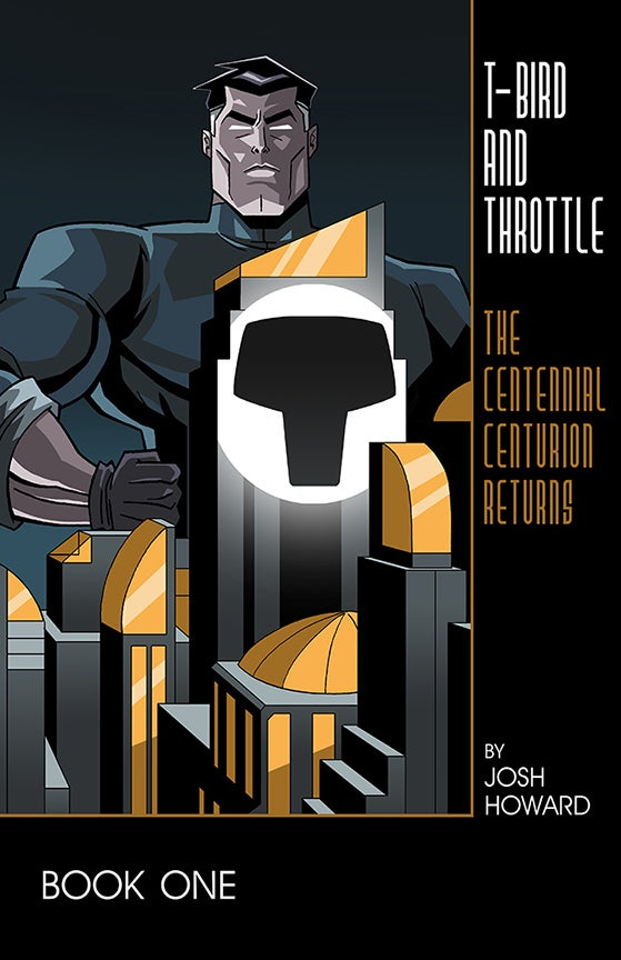 "Image of PRE-ORDER: T-Bird & Throttle #1 ""Dark Knight"" Tribute Variant Cover"