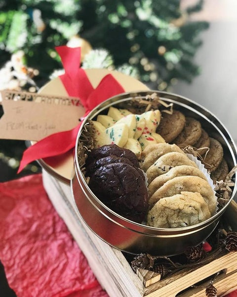Image of Shipped Holiday Cookie Tins