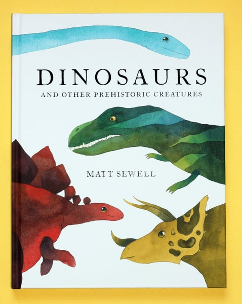 Image of Dinosaurs & Other Prehistoric Creatures - Signed/Drawn Hardback