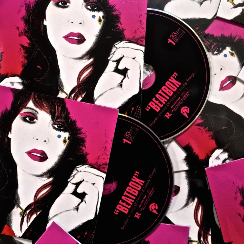 "Image of GLASS CANDY ""Beatbox"" Remastered Compact Disc"