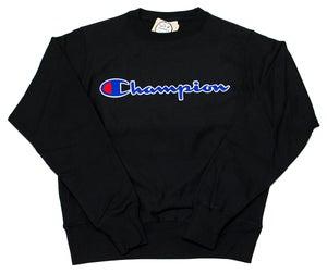 Image of Reverse Weave Sweatshirt BLK
