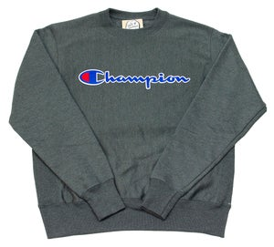 Image of Reverse Weave Sweatshirt Grey