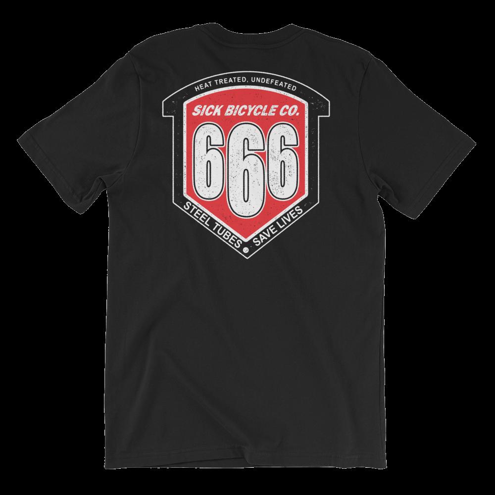 Image of 666 Series Steel - Black Tee