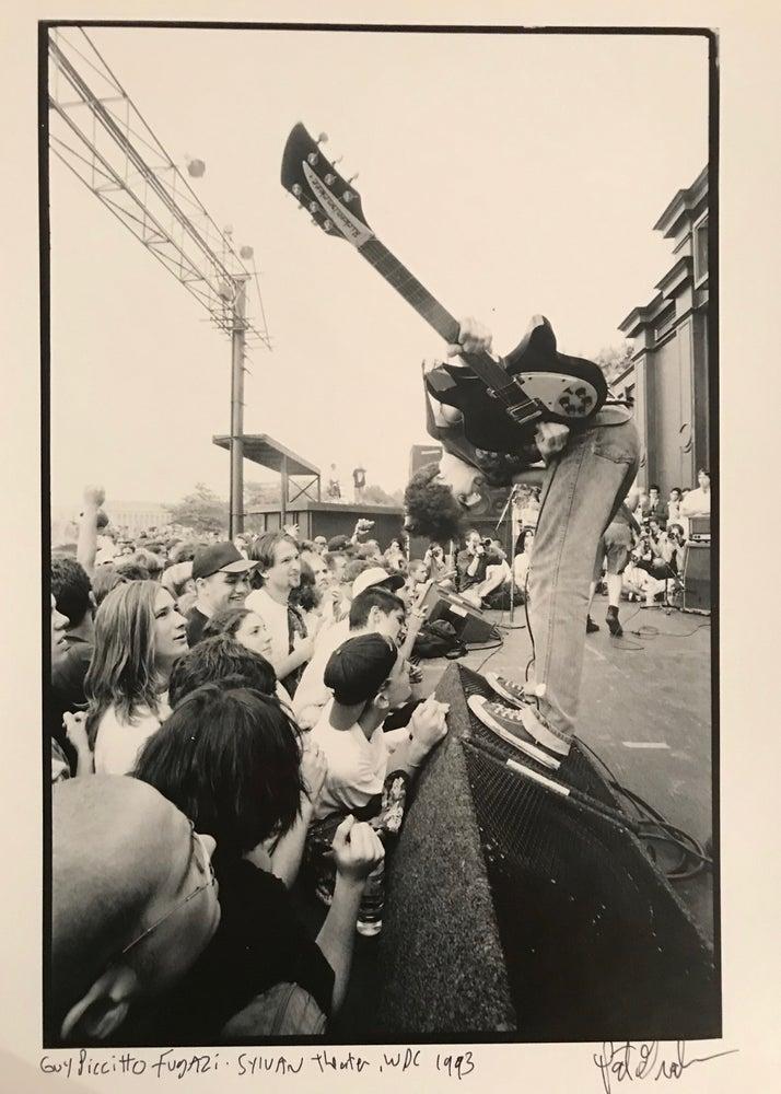 Image of Fugazi live at Sylvian Theatre WDC 1993