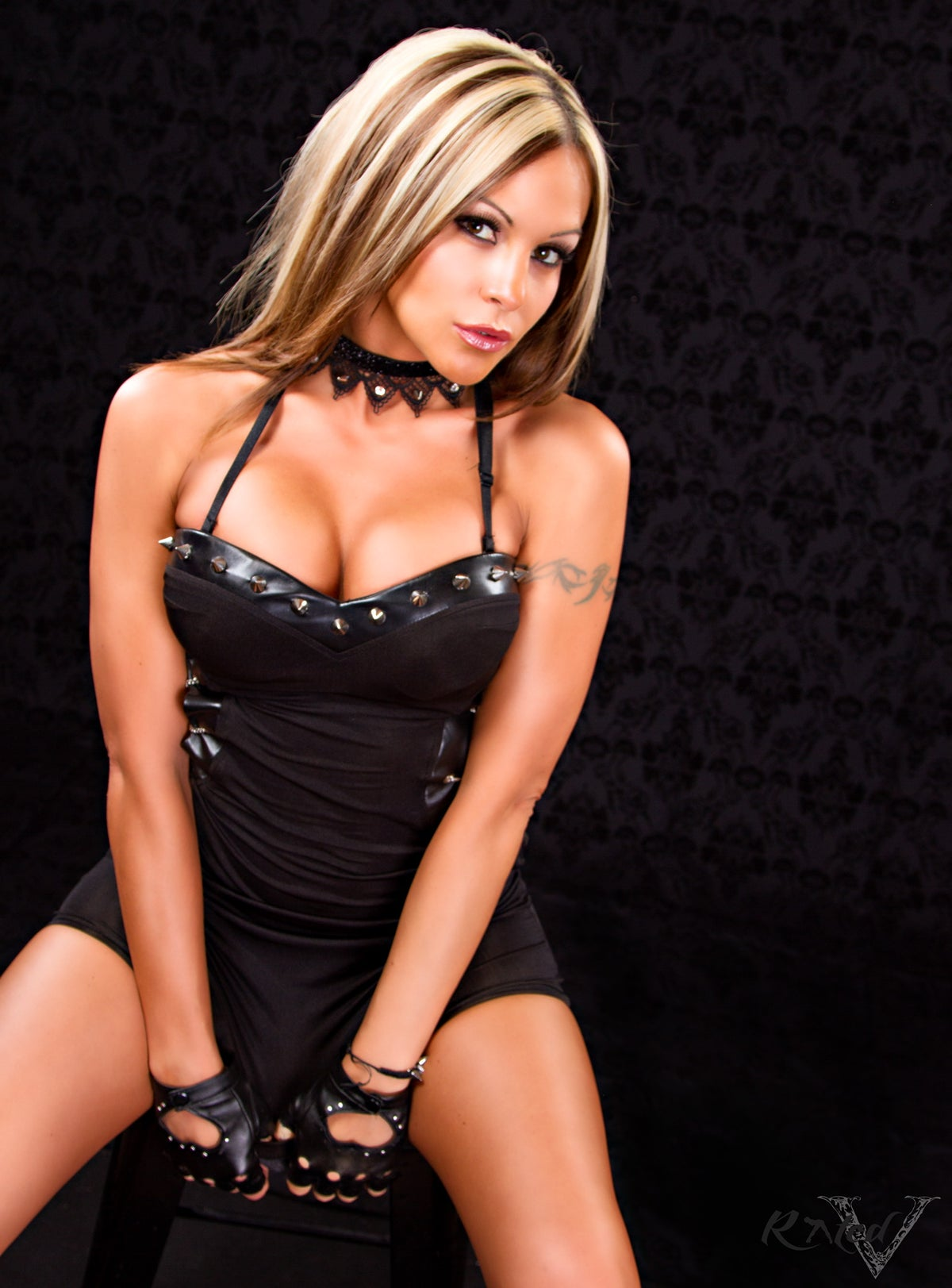 "Image of Velvet Sky ""Back in Black"" 14x20 signed poster"