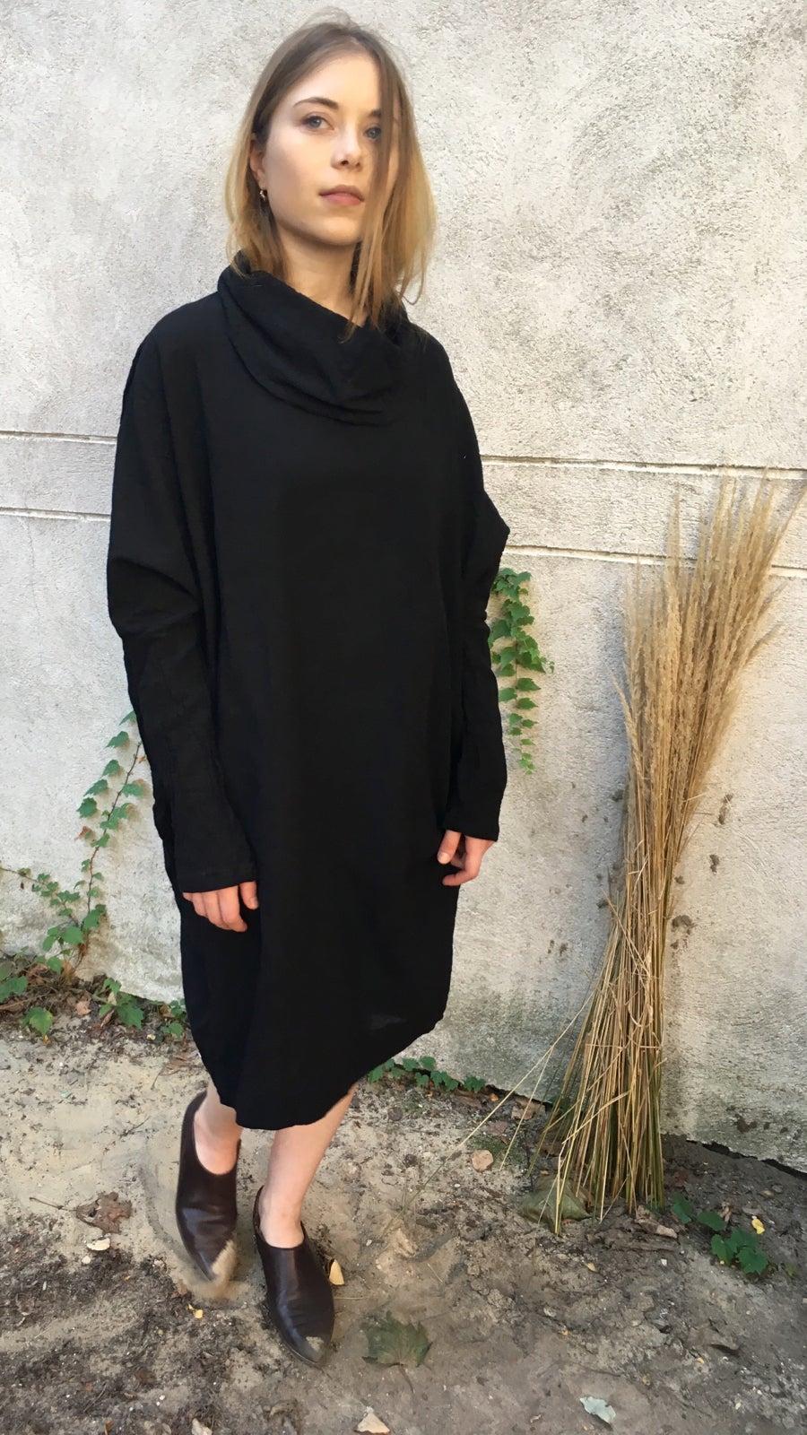 Image of Uzi Funnel Neck Dress