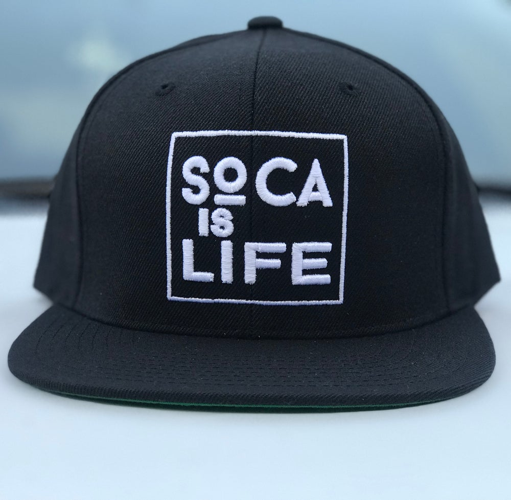 Image of Soca Is Life Snap Back Ver 2