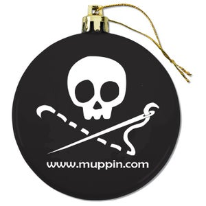 Image of Sewing Skull Ornament