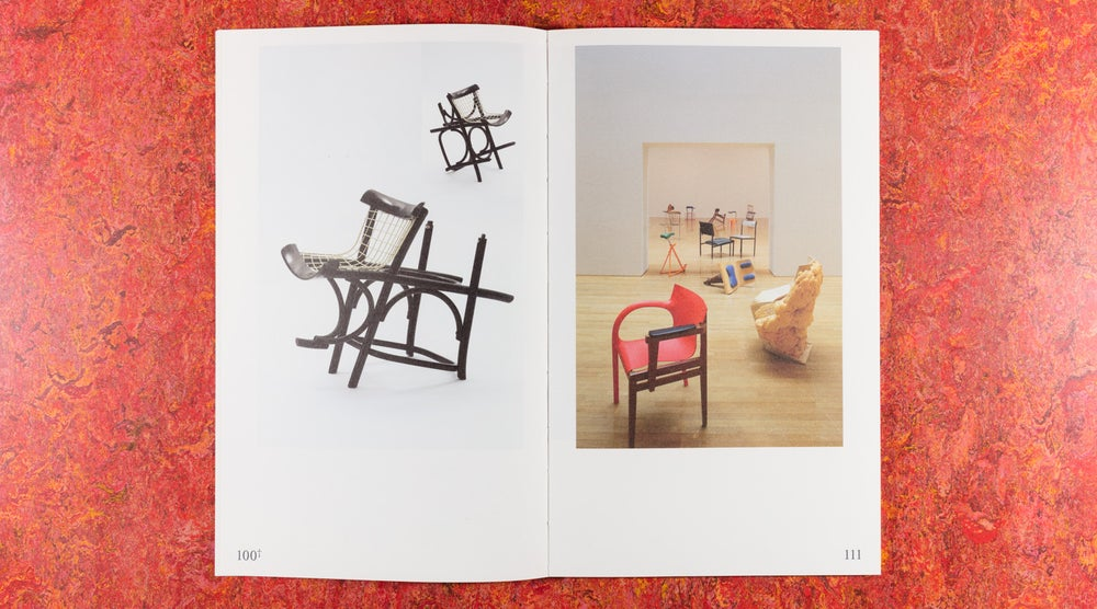 Image of 100 Chairs in 100 Days and its 100 Ways (not lost in translation) <br />— Martino Gamper