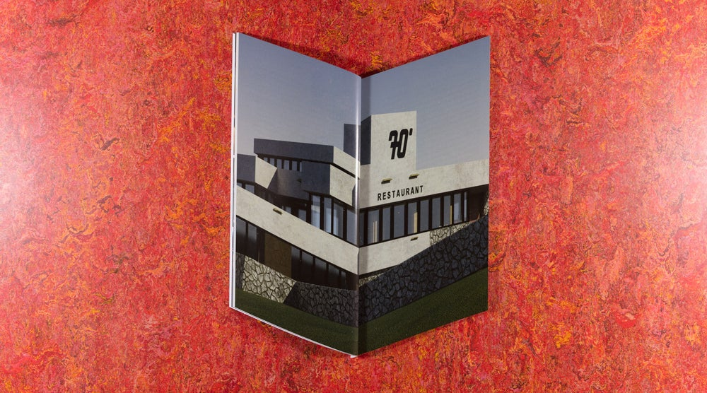 Image of ECHT/70º <br />— Bedwyr Williams