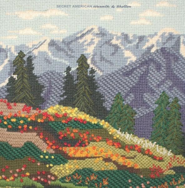 """Image of Secret American - """"Warmth & Shelter"""" Vinyl LP"""