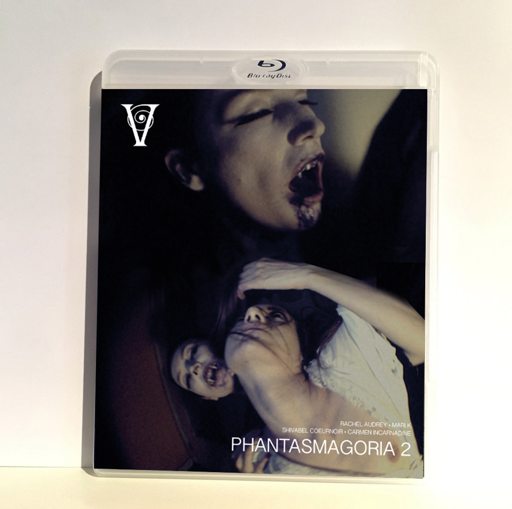 Image of PHANTASMAGORIA 2 - BLU-RAY-R + DVD (HD COLLECTION #12, DESIGN B) SIGNED AND STAMPED, LIMITED 50